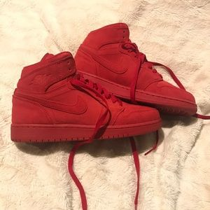Air Jordan 1 retro red suede